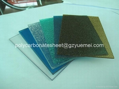 raindrop embossed polycarbonate sheet
