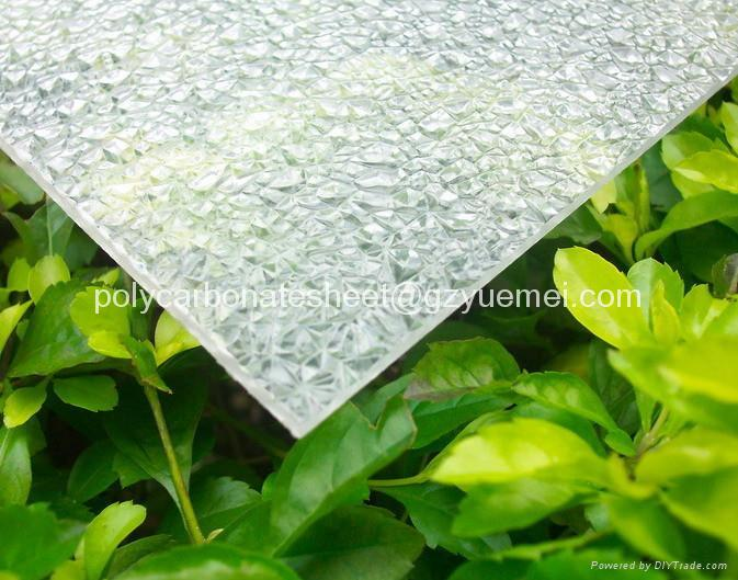 diamond embossed polycarbonate solid sheet 3