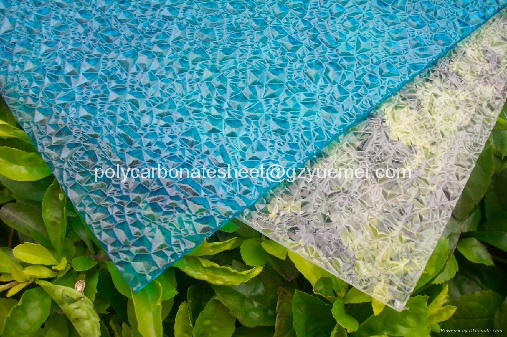 diamond embossed polycarbonate solid sheet 4