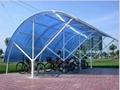 polycarbonate sheet shelter