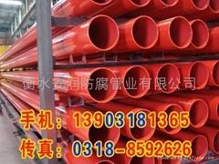 內外塗塑鋼管