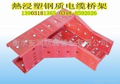 热浸塑钢质电缆桥架