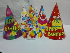Paper birthday hat