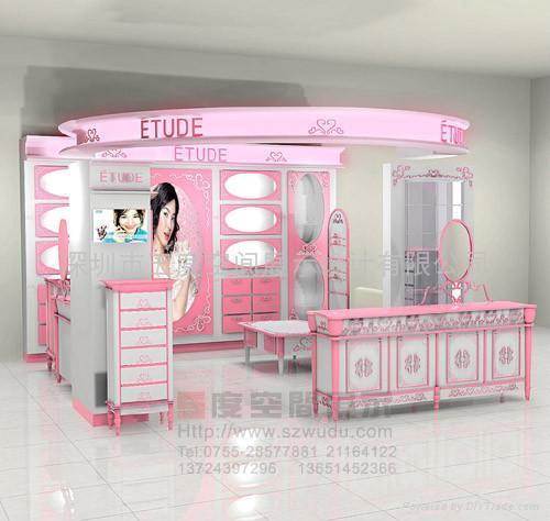 供應品牌化妝品展示櫃 1