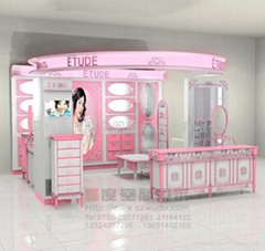 供應品牌化妝品展示櫃