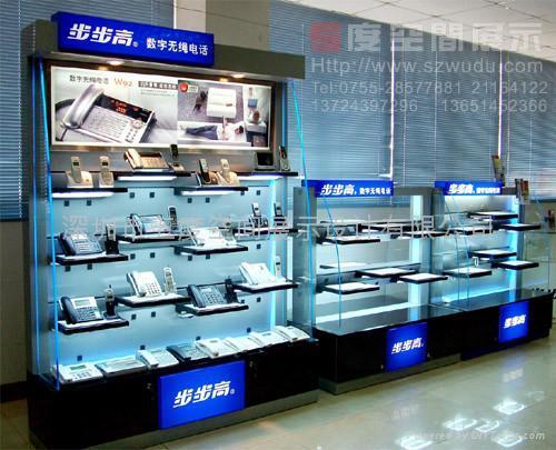 供應品牌電子產品展示櫃 1