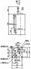 煤气管道单管四室冷凝水排水器