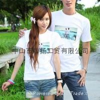 圆领情侣T恤 2