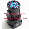 LED Mini Moving Head Wash Light 18x3watt RGB