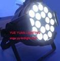 180W Quad RGBW LEDs Par 64 Cans Stage