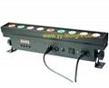 TRI led Pixel Bar light 9X9W RGB 3IN1