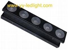 1x5 LED Matrix Panel light 5 x 12W RGBW 4IN1 CREE LEDs