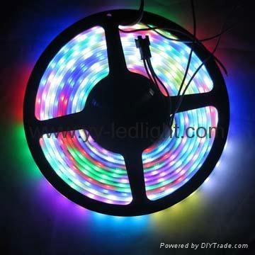 5050 RGB Waterproof IP67 Digital LED Pixel Strip Light Individual Addressable  1