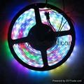 5050 RGB Waterproof IP67 Digital LED Pixel Strip Light Individual Addressable