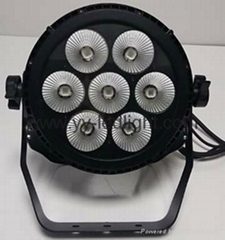Outdoor LED Compact Par 7x30W RGBWA 5in1 Spotlight (Hot Product - 1*)