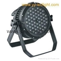 Outdoor LED Par Cans Light 54X3W RGBW