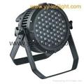 Outdoor LED Par Cans Light 54X3W RGBW