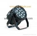 Outdoor LED PAR 64 Light 14X18W RGBWAUV