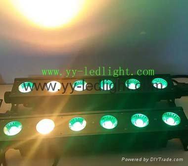 LED Pixel Bar/wall wash light 6x30W RGBWA 5IN1 1