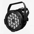 outdoor led slim par 18x12W RGBW 4IN1 spotlight