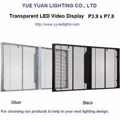 Transparent LED Video Display Screen Wall Panel