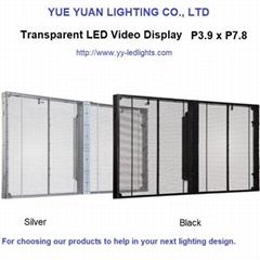 Transparent LED Video Display Screen