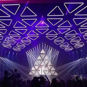The Amazing LEGO Triangle LED Stage Light 3