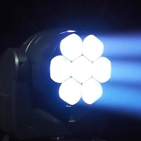 LED Moving Head Beam Zoom Wash Pixel Bee Eye 7x40W RGBW 4-IN-1 Osram LEDs 3