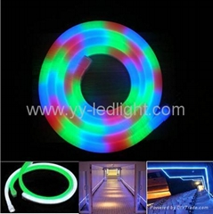 RGB LED Neon Flex rope light