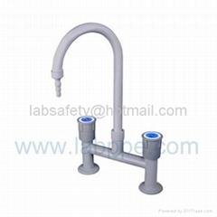 single mixer lab tap