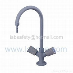 lab brass faucet