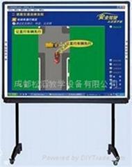 驾校专用教学磁板