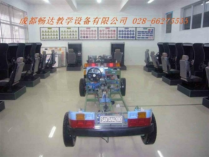 汽车驾驶模拟器,驾校验收设备(新开驾校验收达标设施)透明整台汽车模型,程控电教板,多媒多理论教学软件