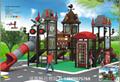 高端儿童户外梭梭板,四川幼儿园高端大型滑滑梯组合玩具 5