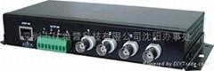 4路无源双绞线视频传输器
