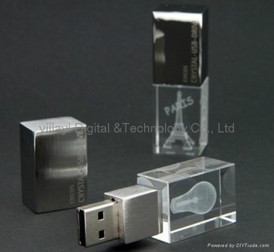 2015 NEW  Usb Crystal usb flash drive ,usb pen drive  2