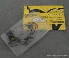 card shape USB drive