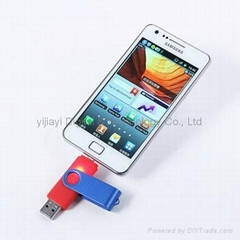 OTG smart phone USB fla