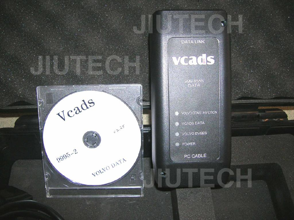 VOLVO VCADS & VOLVO Interface 9998555 diagnostic scanner (Skype: jiutech9705)