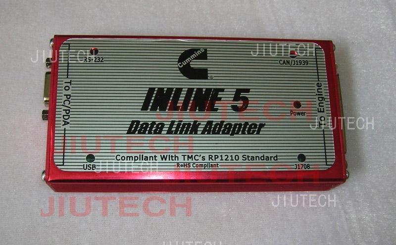 Original Cummins Inline 5 Data Link Adaptor cummins inline5 (Skype: jiutech9705)