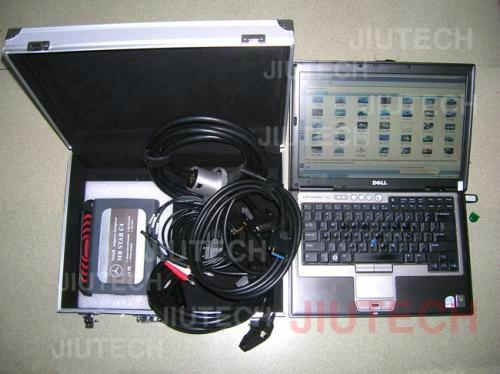 Merceds Benz MB Star C4 with Dell D630 Laptop full set tool (Skype ...