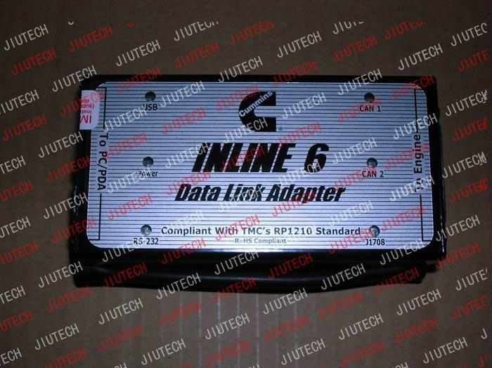Cummins INLINE 6 Data Link Adaptor heavy duty truck diagnostic scanner