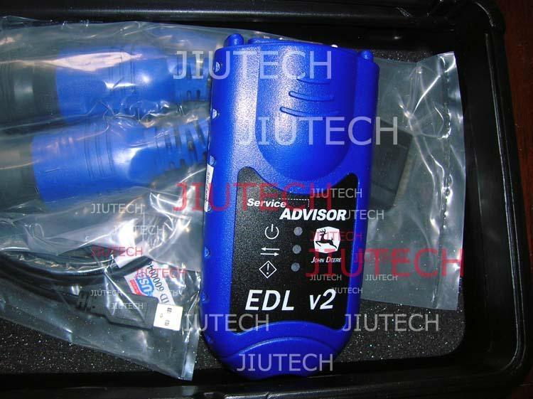 John Deere Advisor EDL Heavy Duty Truck Diagnostic with D630 laptop