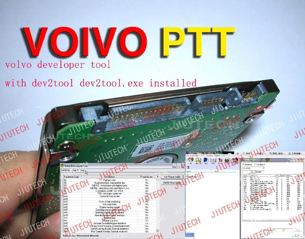 Hard Disk Software Volvo Vcads PTT 1.12 Developer Version With Dev2tool D630