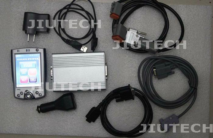 VOLVO PENTA VODIA DIAGNOSTIC Kit with PDA volvo marine industrial engine tool  1