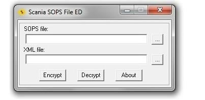SCANIA SOPS File Encryptor/Decryptor (EDITOR)MSN: jiutech9705 at hotmail dot com 1