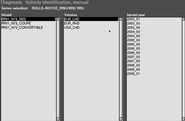 Rolls Royce Diagnostic Software with hard disk