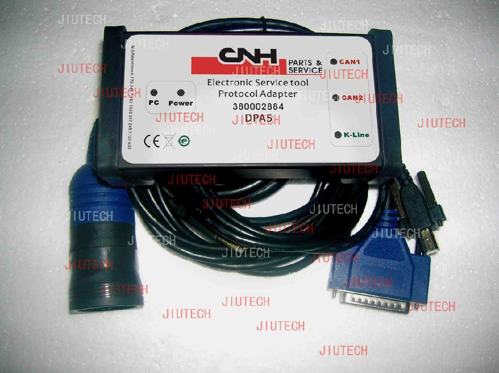 CNH EST DIAGNOSTIC KIT Electronic Service Tool EST for New Holland CASE Kobelco