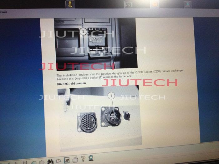 John Deere Diagnostic Kit Heavy Duty Truck Diagnostic Scanner With 9-pin Deutsch