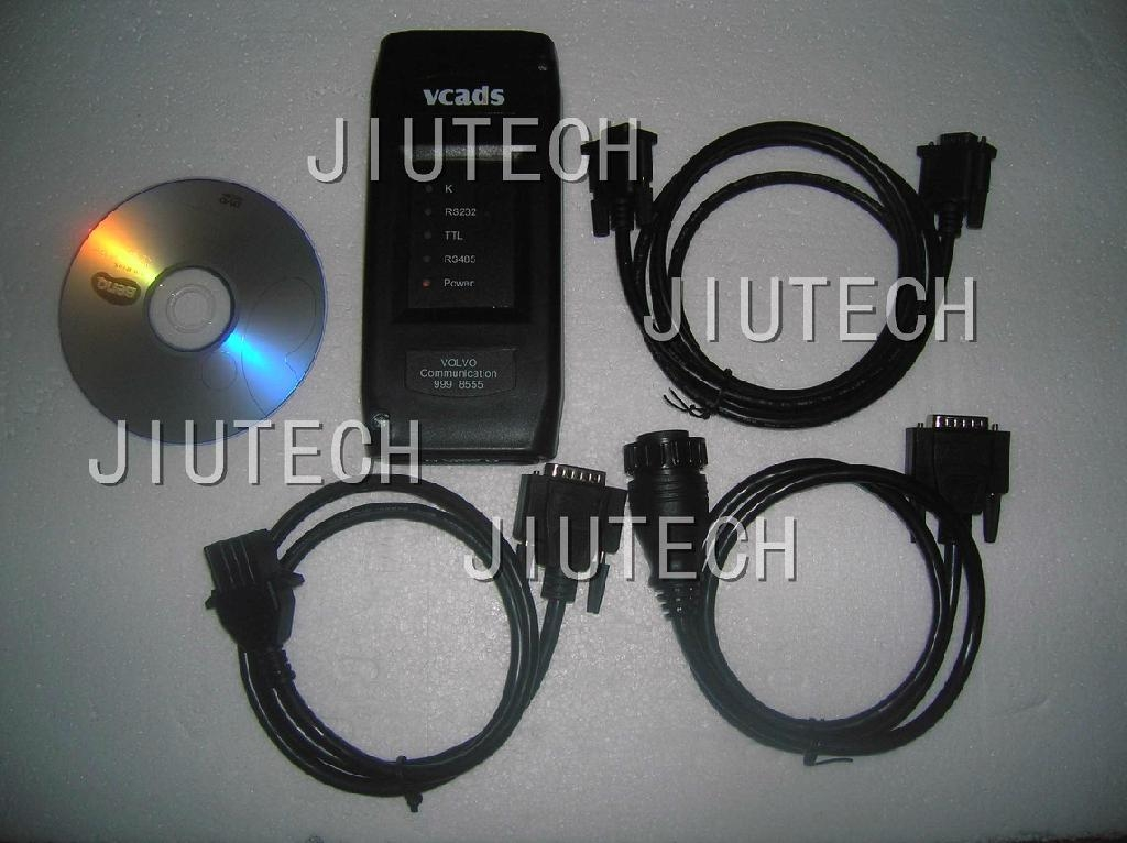 Volvo Truck Diagnostic Tool Volvo VCADS Pro PTT 1.12  2.4 version for volvo